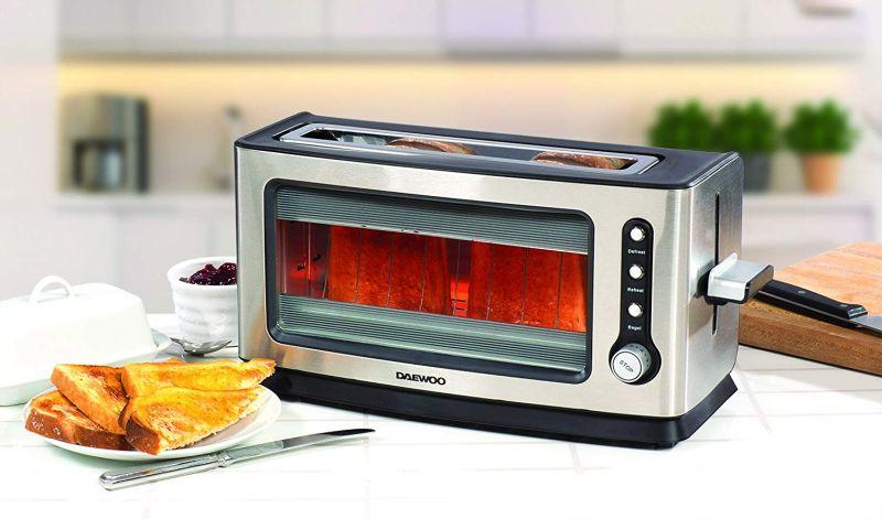 Przezroczysty toster