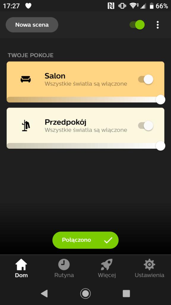 Aplikacja Philips Hue