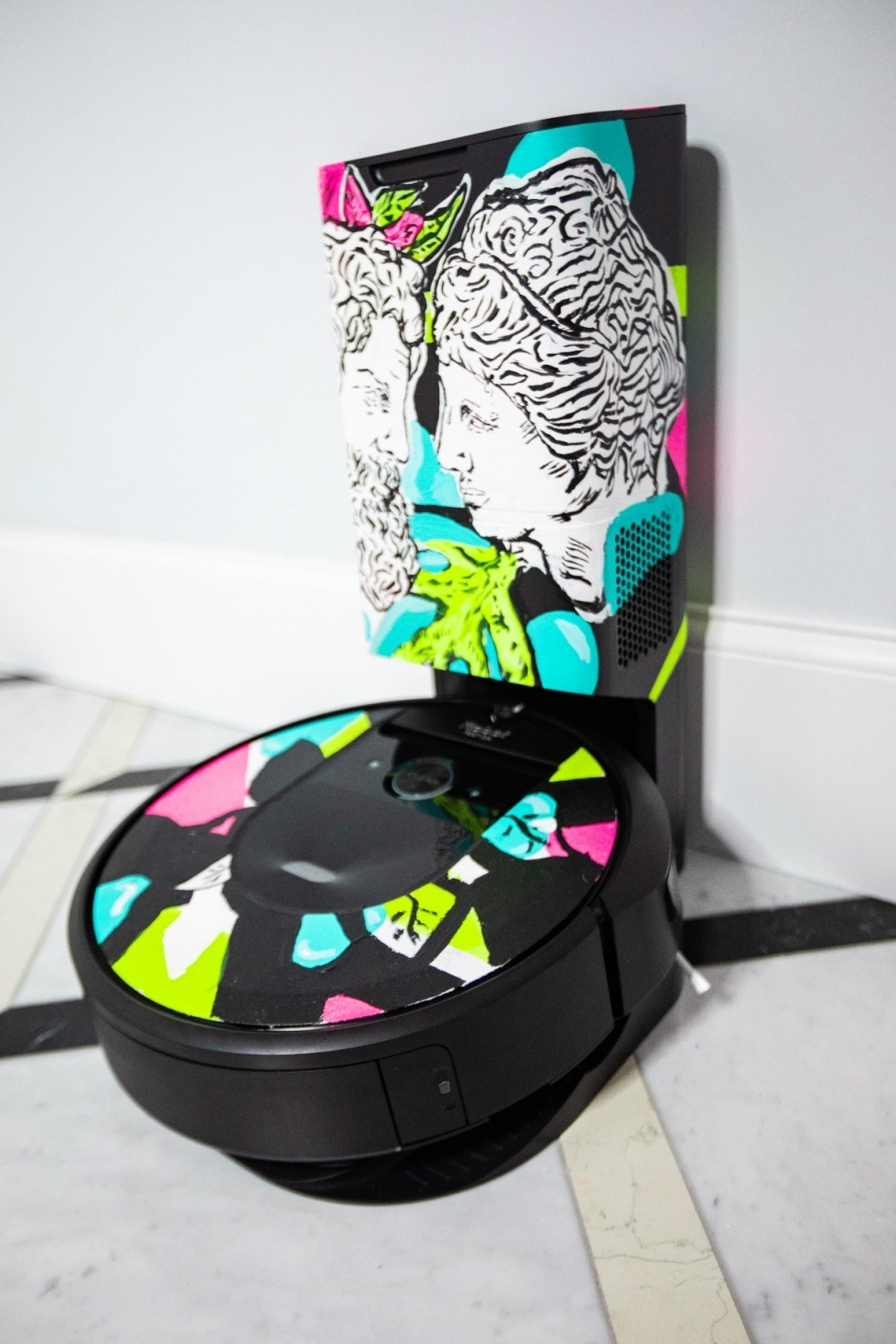 Mateusz Suda iRobota Roomba i7+