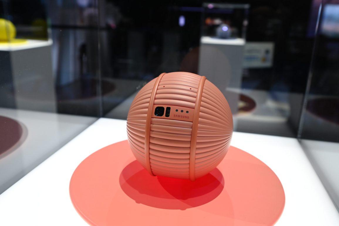 inteligentny robot Samsung
