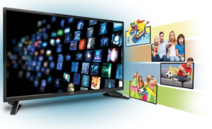 tani smart tv z androidem