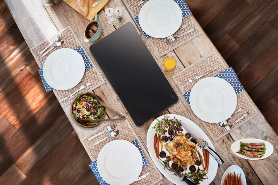 Portable Slim Double Induction