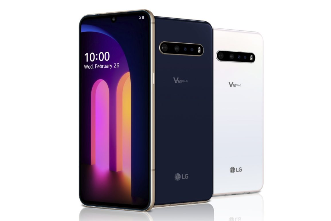LG V60 ThinQ fot. producenta