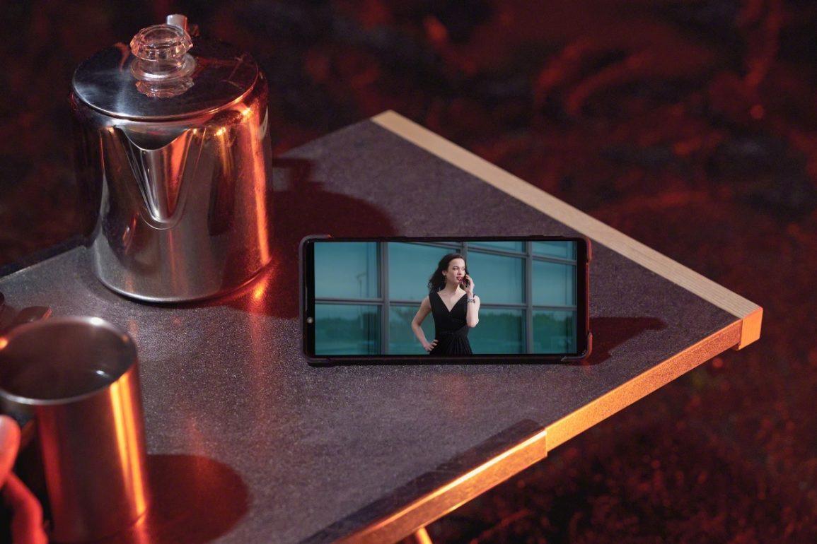 Sony Xperia 1 II tryb nocny