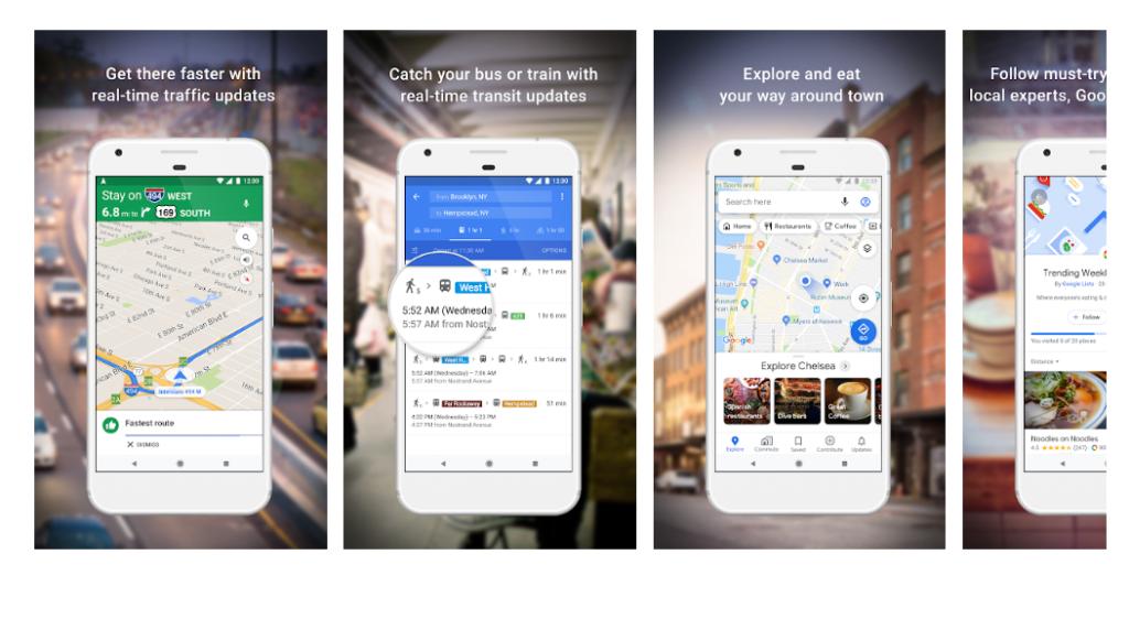 mapy google na androida