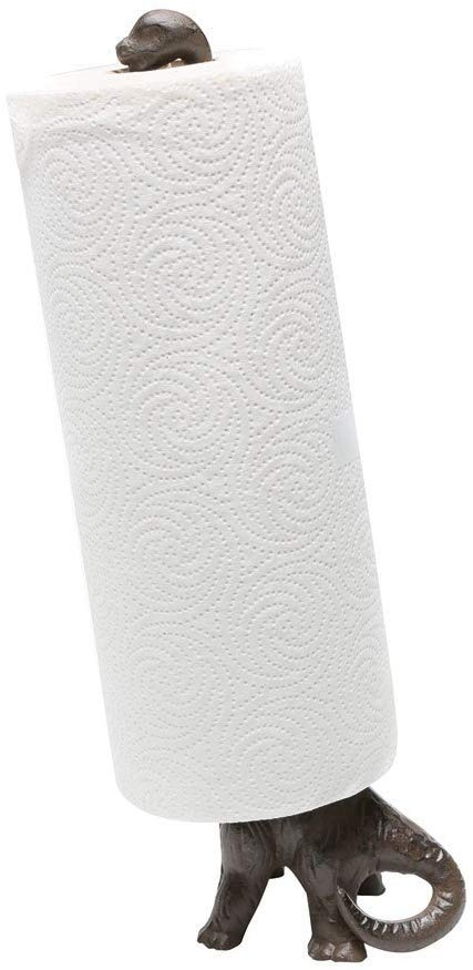 Iron Dinosaur Paper Towel Holder