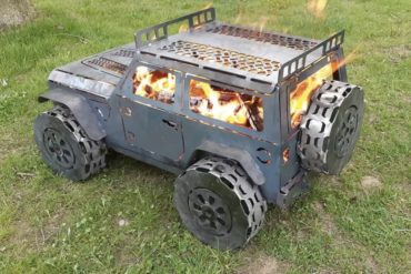 Grill samochód