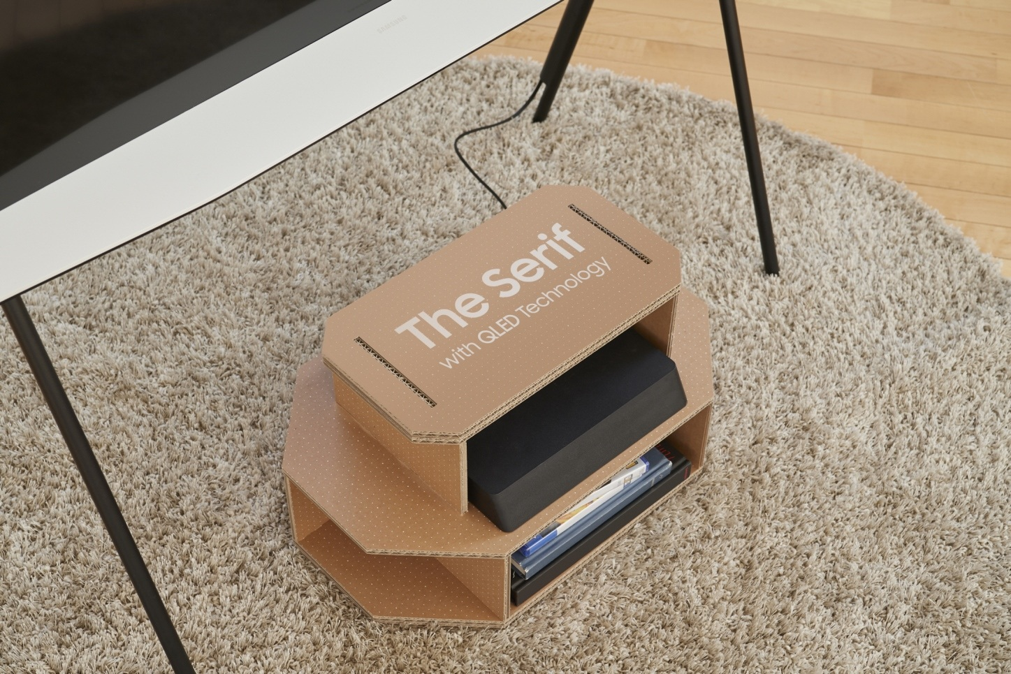 Opakowanie telewizorów Samsung