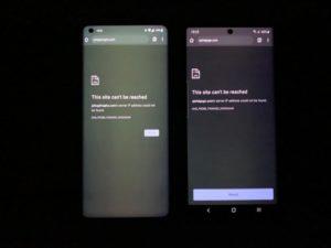 OnePlus 8 Pro zielony ekran