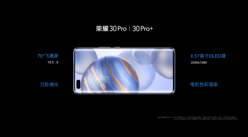 honor 30 pro+ aparat