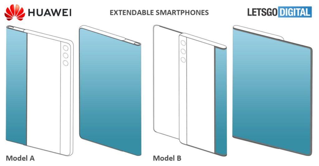 rozsuwany ekran Huawei