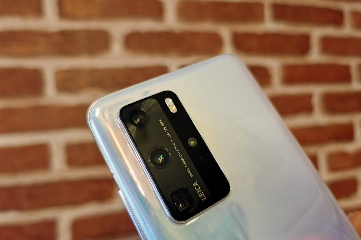 Huawei P40 Pro aparat