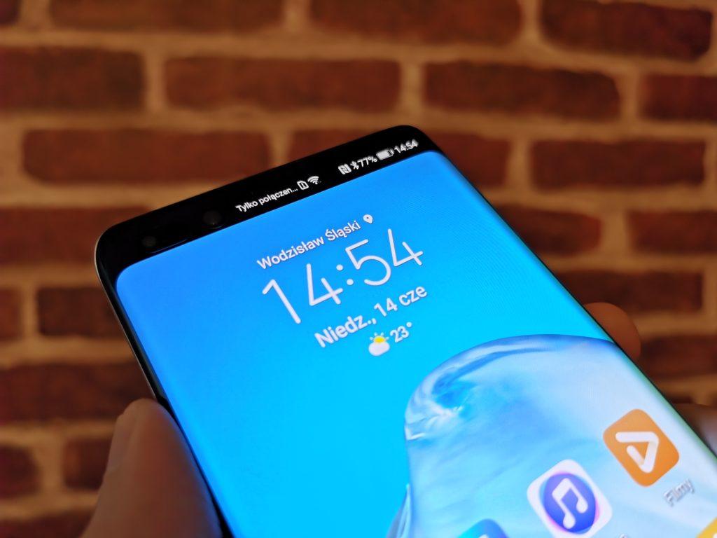 Huawei P40 Pro ekran