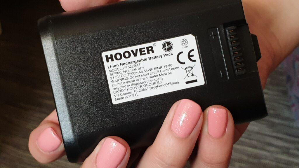 bateria do odkurzacza hoover h-free 500
